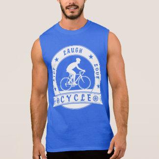 Live Laugh Love Cycle (wht circle) Sleeveless Shirt