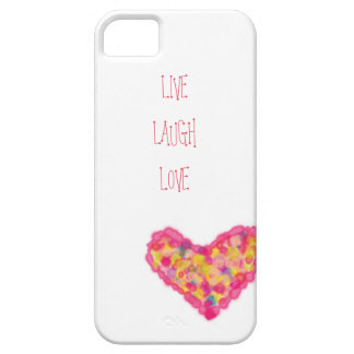 live laugh love iPhone 5 cover