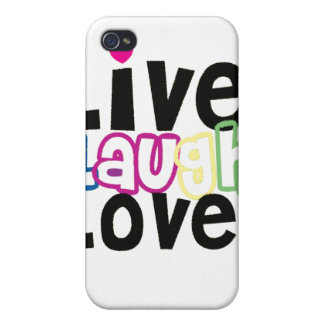 Live Laugh Love iPhone Case Covers For iPhone 4