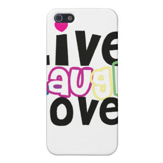 Live Laugh Love iPhone Case iPhone 5 Case