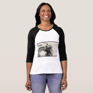 Live, Laugh, Love Jersey Shirt Womens