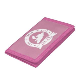 Live Laugh Love Jet Ski Circle (Wht) Tri-fold Wallet