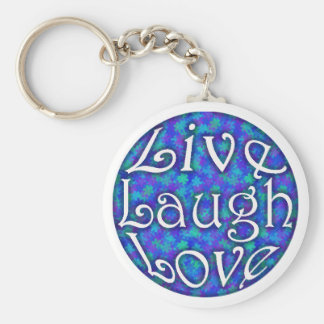 Live Laugh Love Key Chain
