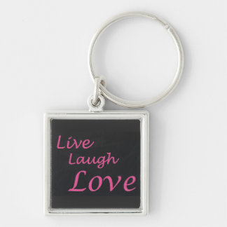 Live Laugh Love Keychain