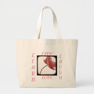 Live, Laugh, Love, Learn bag