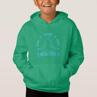 Live Laugh Love Meditate Male Text (neon)