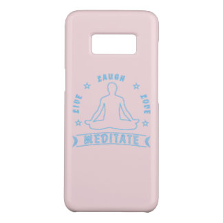 Live Laugh Love Meditate Male Text (neon) Case-Mate Samsung Galaxy S8 Case