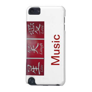 LIve Laugh Love Music iPod Touch (5th Generation) Case