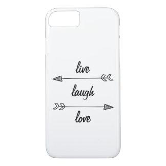 Live, Laugh, Love Phone Case