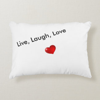 Live, Laugh, Love Pillow