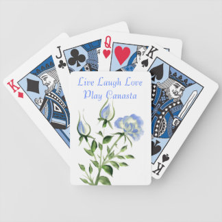 Live Laugh Love Play Canasta Bicycle Playing Cards