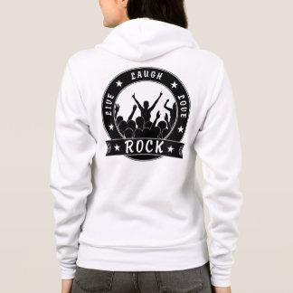 Live Laugh Love ROCK (blk) Hoodie