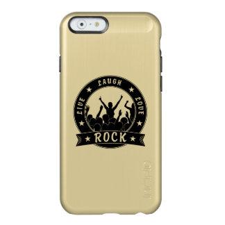 Live Laugh Love ROCK (blk) Incipio Feather® Shine iPhone 6 Case