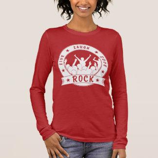 Live Laugh Love ROCK (blk) Long Sleeve T-Shirt