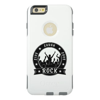 Live Laugh Love ROCK (blk) OtterBox iPhone 6/6s Plus Case