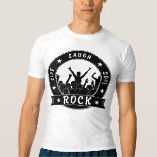 Live Laugh Love ROCK (blk) T-shirt