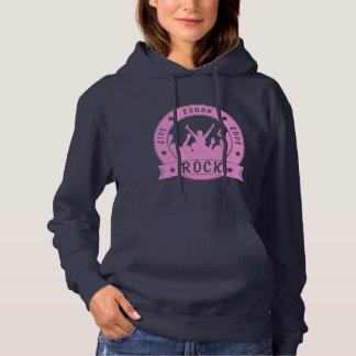 Live Laugh Love ROCK (pink) Hoodie