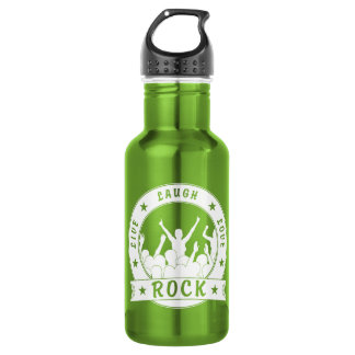 Live Laugh Love ROCK (wht) 532 Ml Water Bottle