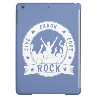 Live Laugh Love ROCK (wht) iPad Air Cases