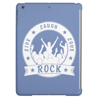 Live Laugh Love ROCK (wht) iPad Air Cover