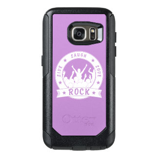 Live Laugh Love ROCK (wht) OtterBox Samsung Galaxy S7 Case