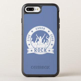 Live Laugh Love ROCK (wht) OtterBox Symmetry iPhone 8 Plus/7 Plus Case