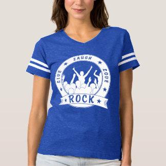 Live Laugh Love ROCK (wht) T-shirt