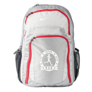 Live Laugh Love RUN female circle (wht) Backpack