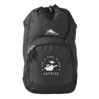 Live Laugh Love Skydive. Backpack