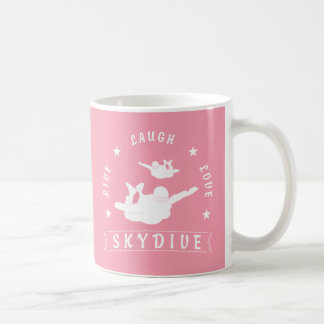 Live Laugh Love Skydive. Coffee Mug