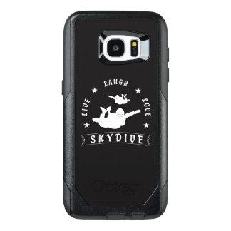 Live Laugh Love Skydive. OtterBox Samsung Galaxy S7 Edge Case