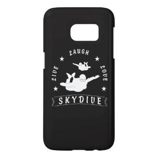 Live Laugh Love Skydive. Samsung Galaxy S7 Case