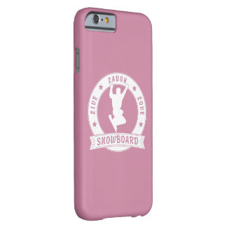 Live Laugh Love SNOWBOARD 2 Circle Barely There iPhone 6 Case