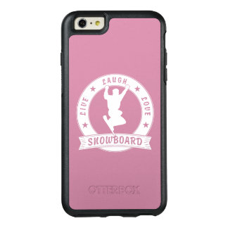 Live Laugh Love SNOWBOARD 2 Circle OtterBox iPhone 6/6s Plus Case
