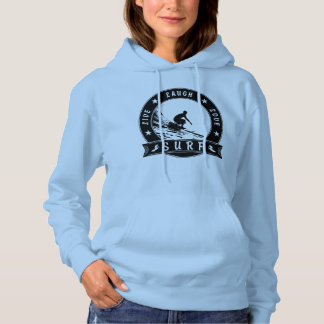 Live Laugh Love Surf 2 (Black Circle) Hoodie