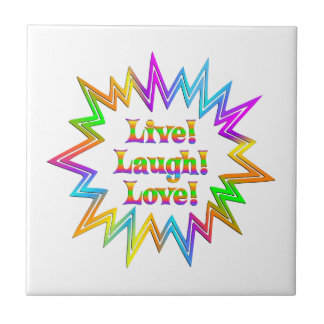 Live Laugh Love Tile