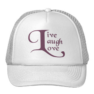 Live, Laugh, Love Trucker Hat