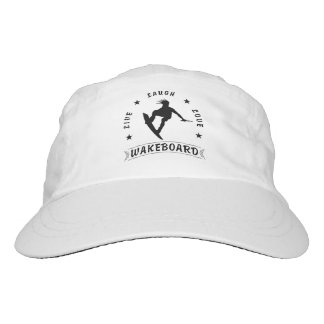 Live Laugh Love  WAKEBOARD 1 black text Hat
