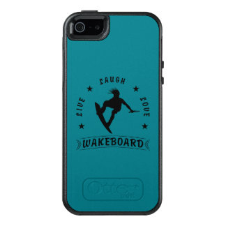 Live Laugh Love  WAKEBOARD 1 black text OtterBox iPhone 5/5s/SE Case