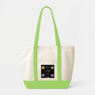 Live Laugh Love Yoga Tote Bag