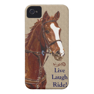 Live Laugh Ride! Horse iPhone 4 Cases