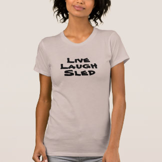 """Live Laugh Sled"" Snowmobilers.com Ladies Tank Top"