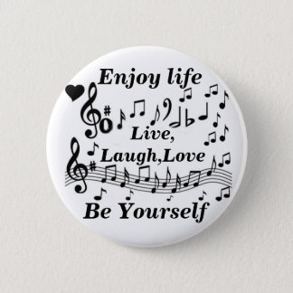 Live,Laught,Love_ 2 Inch Round Button