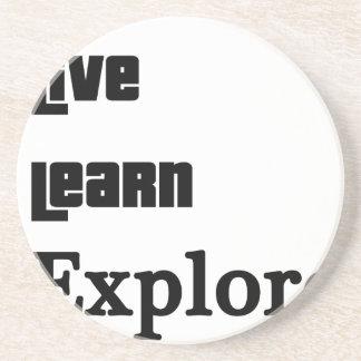Live Learn Explore Coaster