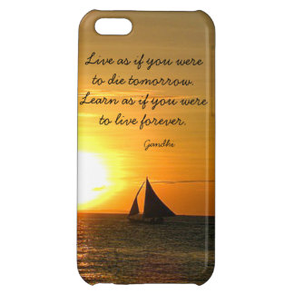 Live Learn Gandhi Quote Boat iPhone 5C Case