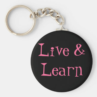 Live Learn Keychain