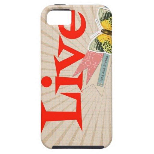 Live life iPhone 5 covers