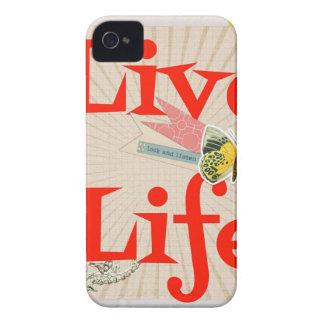 Live life iPhone 4 Case-Mate case