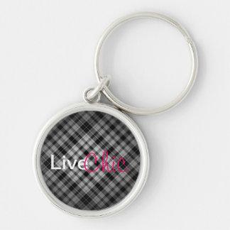 Live Life: Chic Keychain