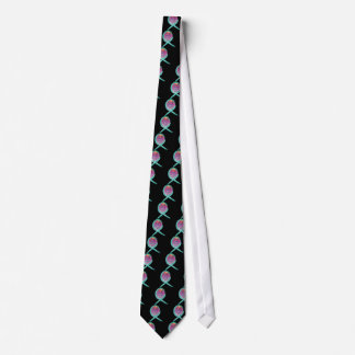 Live Life Fully Teal Ribbon Tie